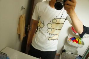 ワシヅカミTシャツ
