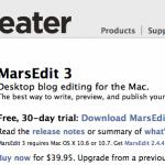 MarsEdit 3 - Desktop blog editing for the Mac.